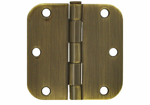 Antique Brass 3 1 2 Quot Door Hinges 5 8 Quot Radius Cheap