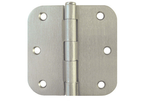 Satin Nickel 3 1 2 Quot Door Hinges 5 8 Quot Radius Us15 Cheap