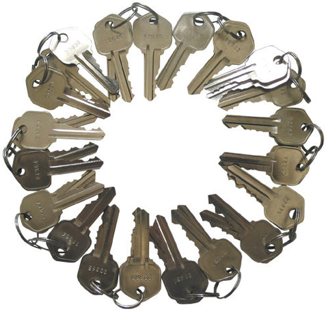 Kwikset Precut 5 Pin Keys KW1 50 Pieces 10 sets of 5
