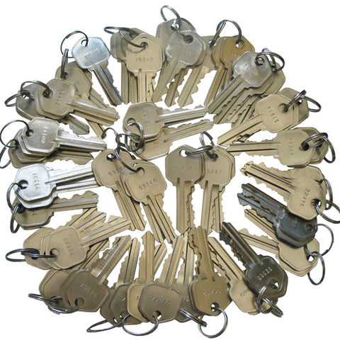 Kwikset Precut 5 Pin Keys KW1 100 Pieces 20 sets of 5