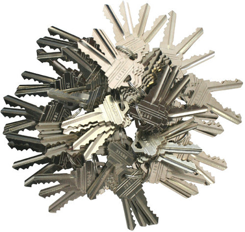 Schlage Precut 5 Pin Keys SC1 80 Pieces 10 sets of 4
