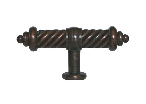 Oil Rubbed Bronze Cabinet Drawer 3 3 8 Quot Flute Knob 1325