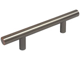 "Oil Rubbed Bronze 3 3/4"" Kitchen Cabinet Drawer Bar Pull 3948 96MM"