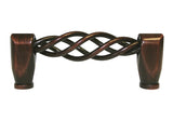 "Oil Rubbed Bronze Cabinet Drawer 3"" Bird Cage Pull 1300 76MM"
