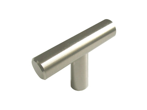 "Stainless Steel Cabinet Drawer 2"" Bar Knob 306 51MM"