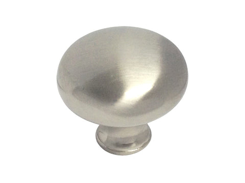 "Satin Nickel Cabinet Drawer 1-1/4"" Round Knob 83912 32MM"