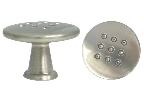 "Satin Nickel Cabinet Drawer 1-1/8"" Round Knob 7410 30MM"