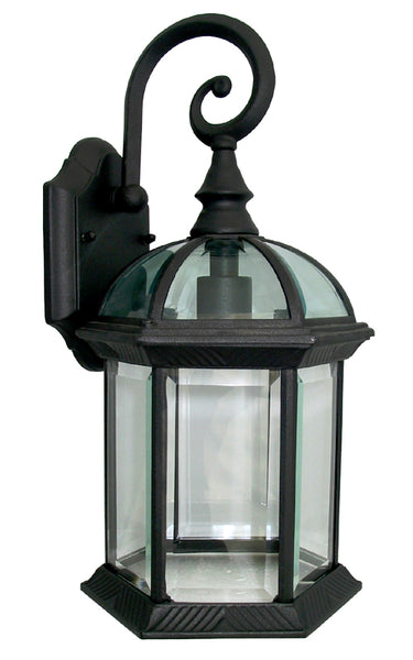 Exterior Light Fixture Black Finish Outdoor Wall Sconce
