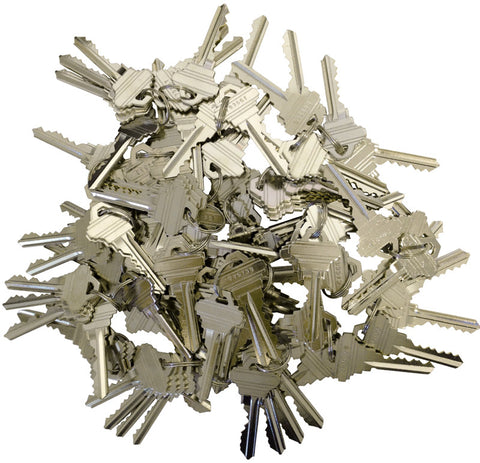 Schlage Precut 6 Pin Keys SC1 80 Pieces 20 sets of 4