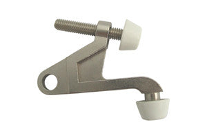 Satin Nickel Hinge Door Stop Stopper Cheap Discount Budget