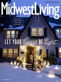 Midwest Living Magazine Cover!