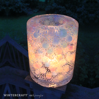 Revisiting Water Beads (Orbeez) in Ice Lanterns