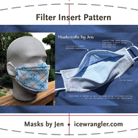 Mask filter pattern + a sweet-smelling tip!