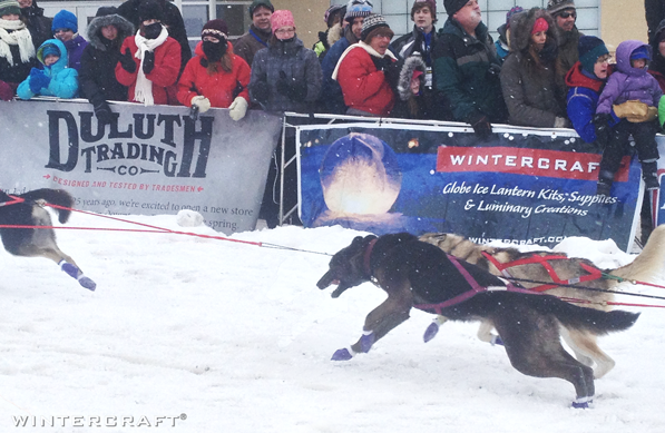 Wintercraft sponsor of John Beargrease Sled Dog Marathon