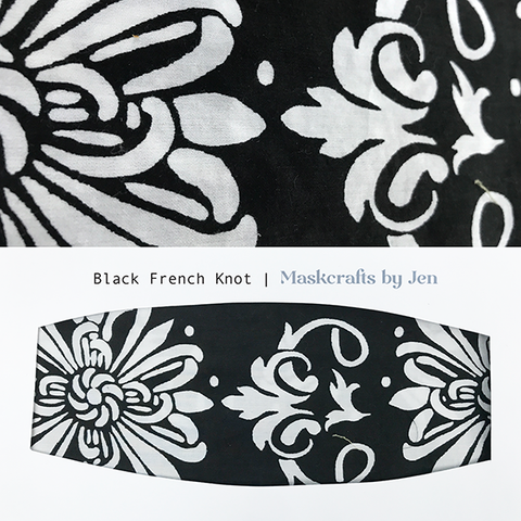 Black French Knot