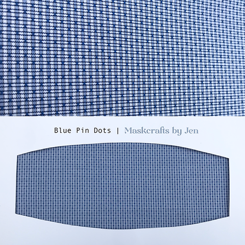 Blue Pin Dots