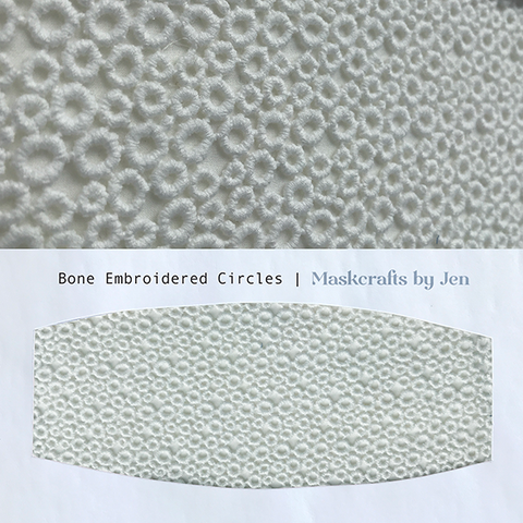 Bone Embroidered Circles