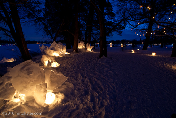 Enhanted Forest Luminary Loppet 2010 photo by Mitchster