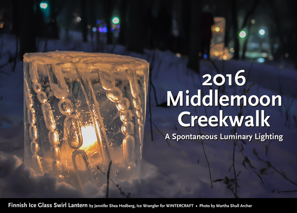 Finnish Ice Glass Tower by Jennifer Shea Hedberg Ice Wrangler for Wintercraft Middlemoon 2016