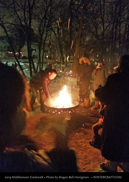 The Lynnhurst Neighborhood Association's Fire pit 2019 Middlemoon Creekwalk