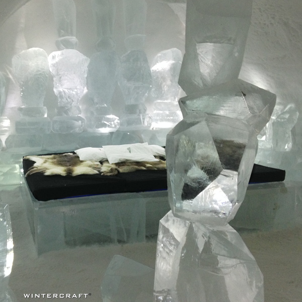 Wintercraft Ice Wrangler at Ice Hotel in Northern Sweden