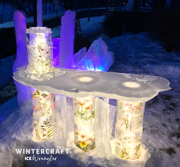 Floral Ice Bar Wintercraft Ice Wrangler