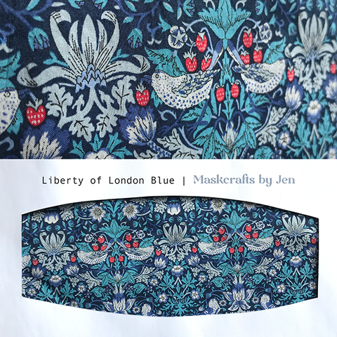 Liberty of London Strawberry Thief Blue