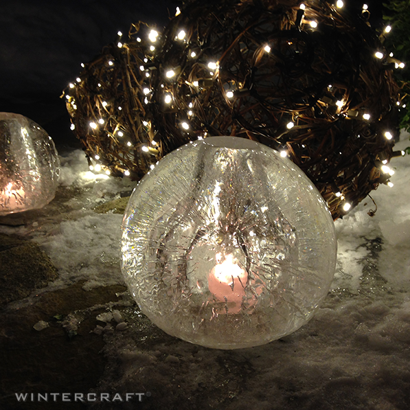 Wintercraft Globe Ice Lantern - How to Make a Wintercraft Globe Ice Lantern