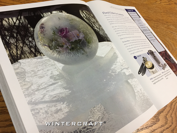 Wintercraft Luminary Magic Book Floral Globe Project