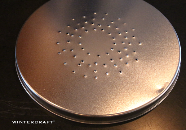Wintercraft punched holes in top