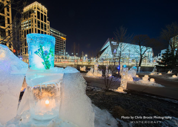 Wintercraft Ice Wrangler The Commons Flower Tower Photo by Chris Broste
