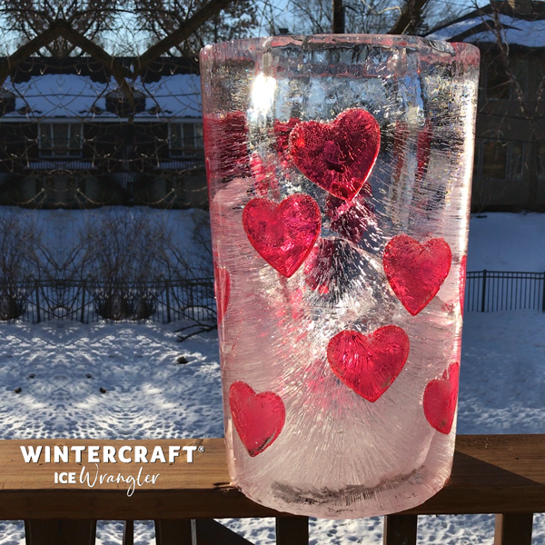Valentine's Day Ice Project for 2020