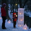Twisting Balloons for making Finnish Glass Ice Lanterns