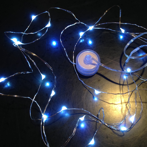 Waterproof LED Micro Lights on Wire