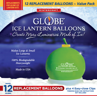 Wintercraft replacement balloon value pack 12 balloons