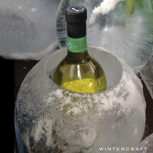 Wintercraft Globe Ice Lantern Wine Cooler