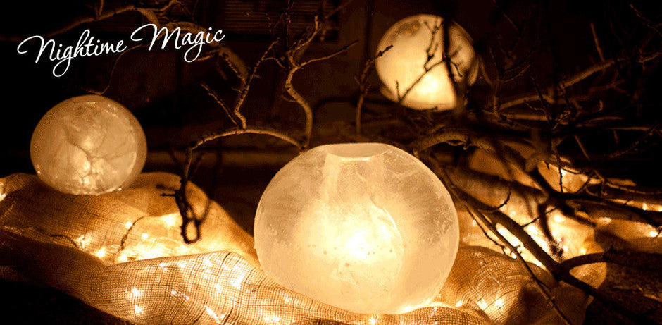 #Wintercraft Night time magic Ice luminary Kits