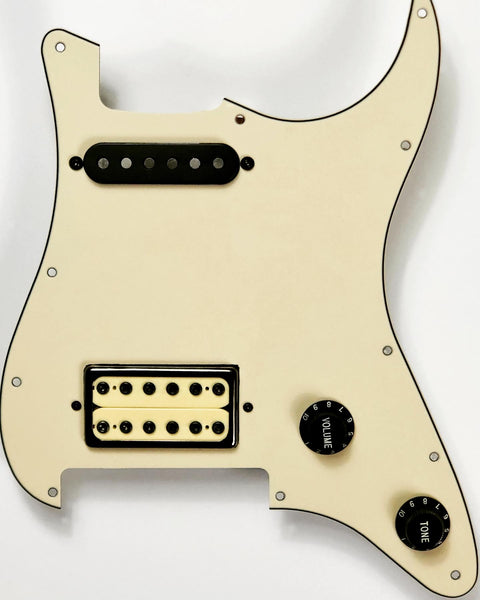 Terminator - SVST-Lynch Pickguard Assembly with Electric Ed Pickup Set