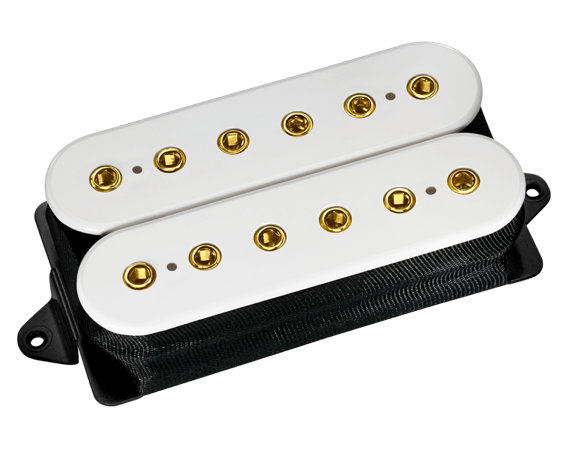 Evolution - Neck - White/Gold Screws
