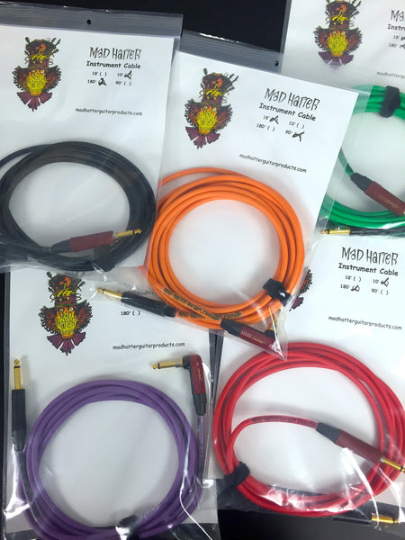 Mad Hatter Instrument Cables
