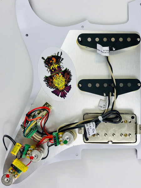 Terminator - SVDT-5S Pickguard Assembly with Fralin Pickup Set
