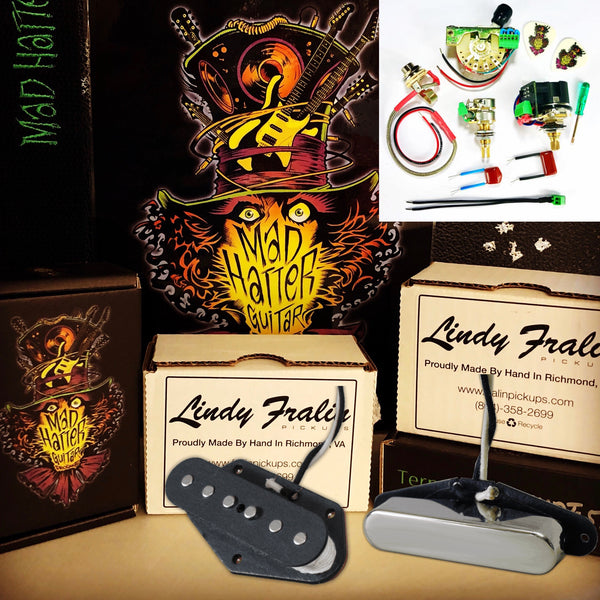 Mad Hatter Bundle - Terminator SVST-2/2 & Fralin Tele Set