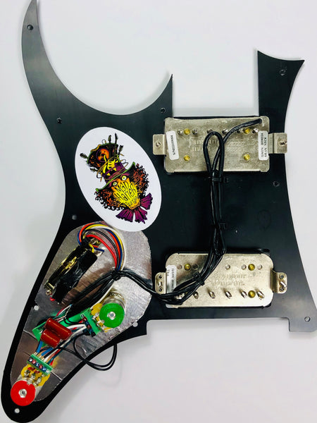 Terminator - SVST-IBZ Pickguard Assembly with Seymour Duncan JB/59 Pickup Set