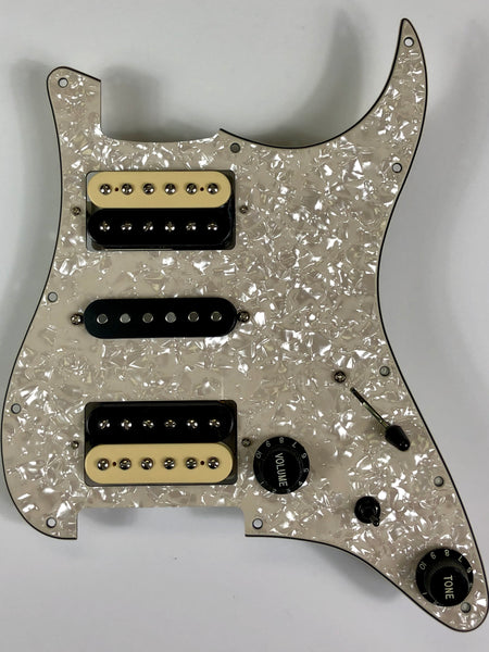 Terminator - 5/3 Pickguard Assembly with Fralin Pickup Set