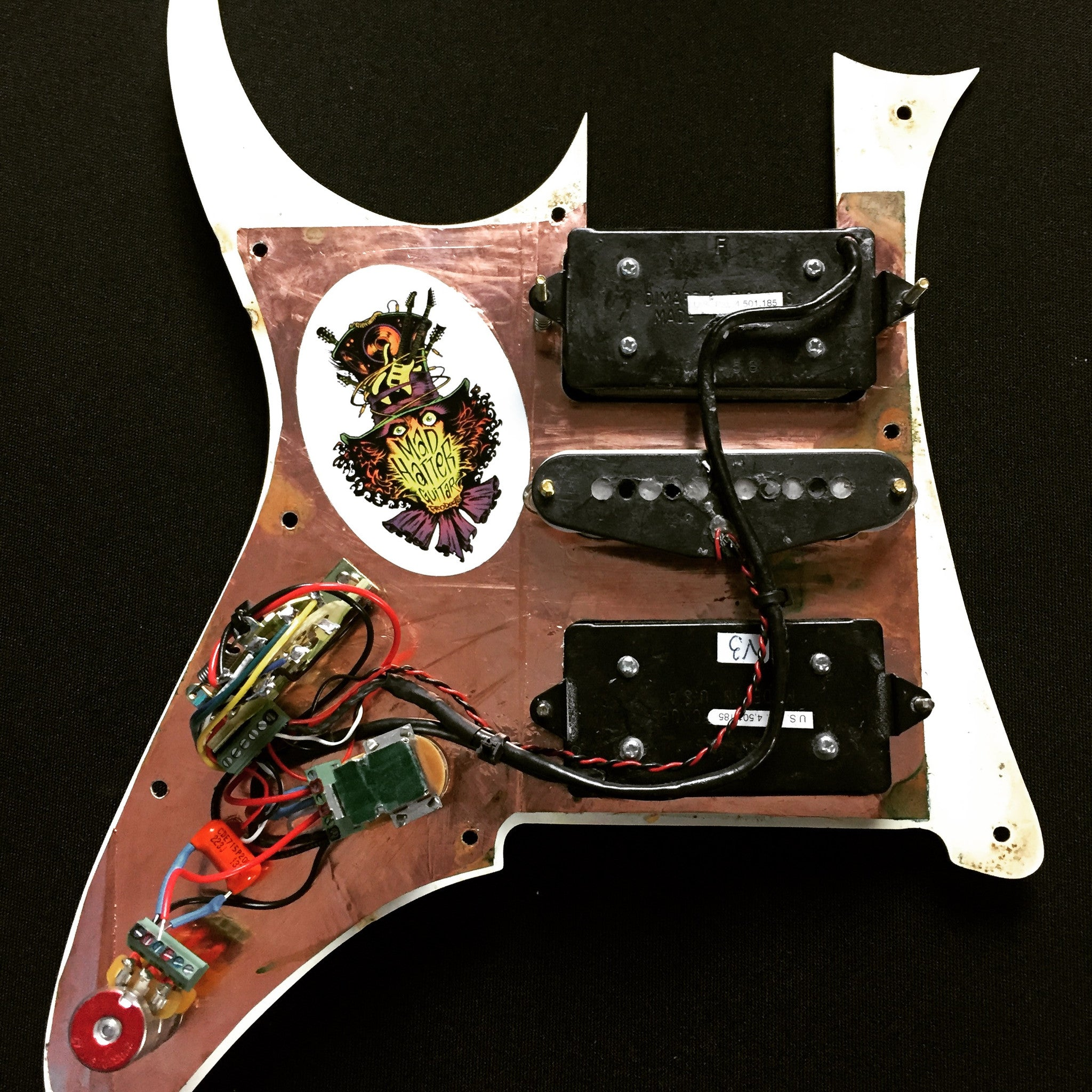 Terminator Evo Mad Hatter Guitar Products Wiring Diagram