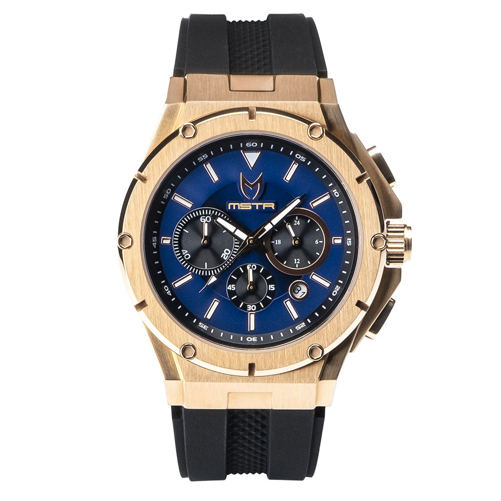 AM240RB - MK3 ROSE GOLD / BLUE / RUBBER BAND