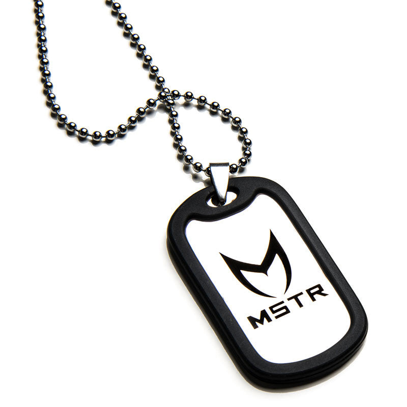 DT005MS - MSTR DOG TAG / POLISH SILVER