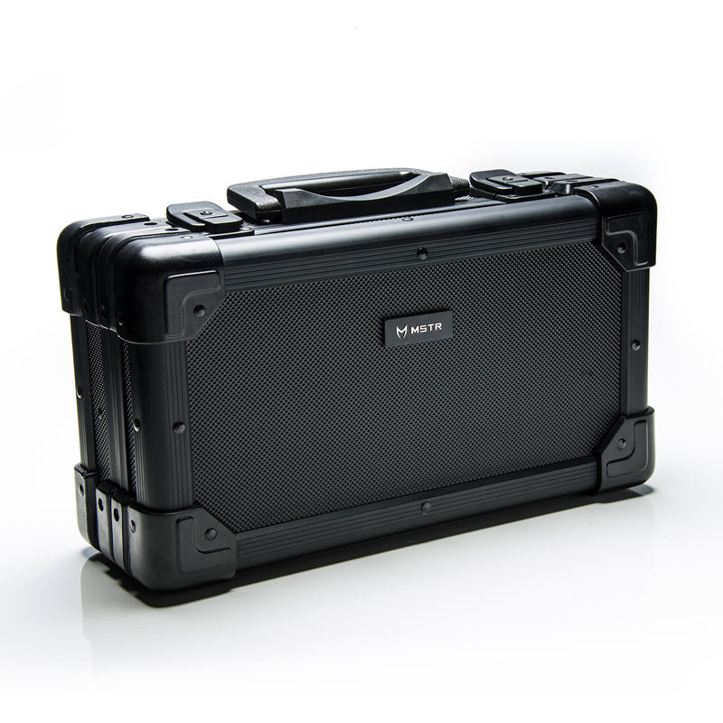 c859ed9824d2 WTP112 - HEAVY DUTY ALUMINUM BRIEFCASE WATCH STORAGE / HOLDS 6