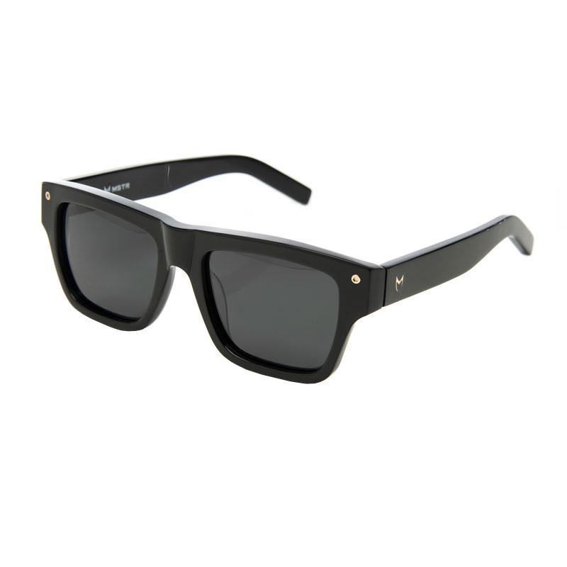 SG201AC - VS1 BLACK / BLACK POLARIZED LENS