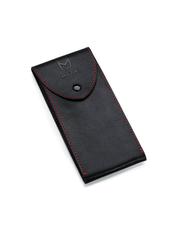 WTP120 - WATCH POUCH BLACK/RED (1)